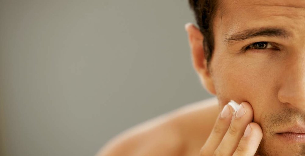 menswear blog retinol face skincare
