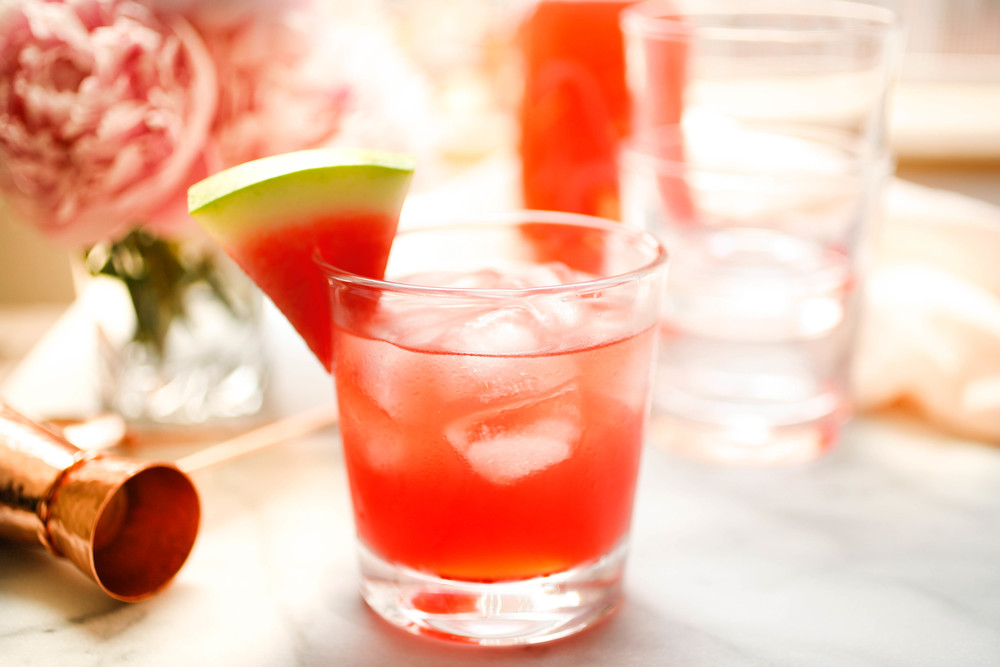 Watermelon Negroni   TheKitchn. Recipe by   Maureen Petrosky. Photo and Styling by Martha Tinkler