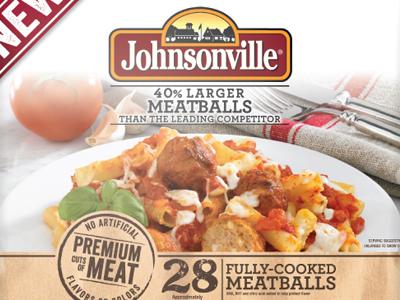 Johnsonville Frozen Meatballs