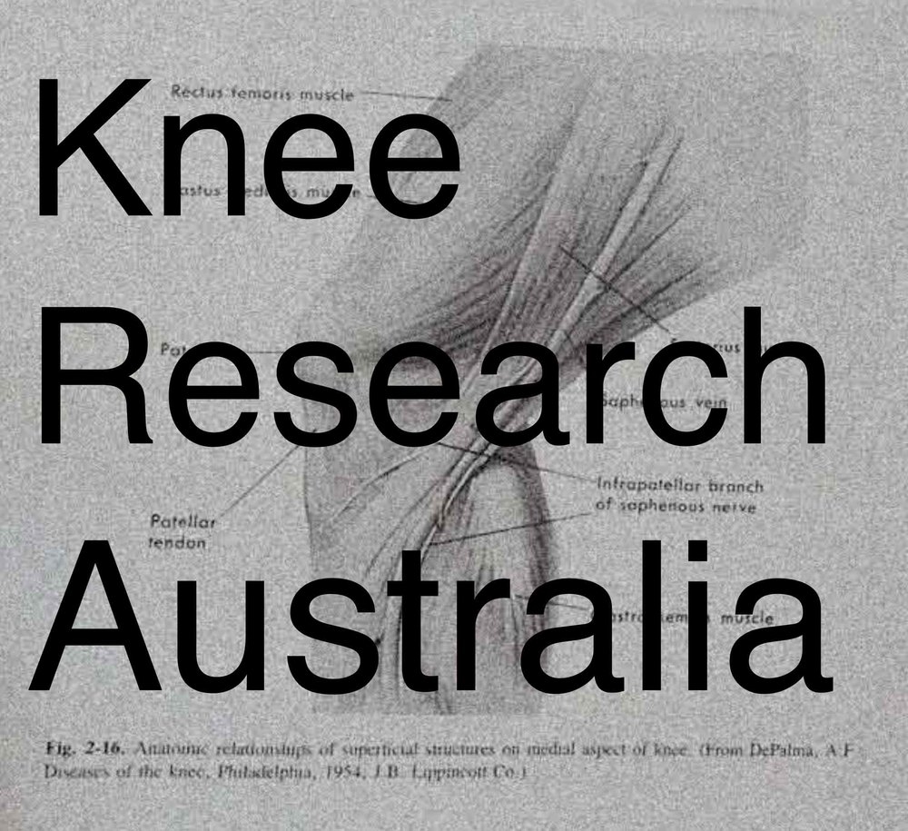 Donate to Knee Research Australia