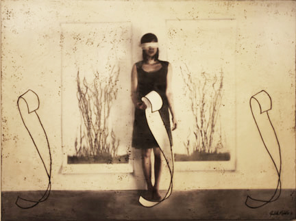 "Mixed Message, 2011, Mixed Media, 36"" X 48"""
