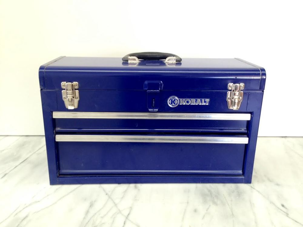 kobalt 2 drawer tool box 2