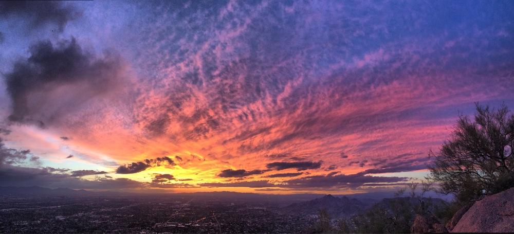 Sunset at Camelback Summit