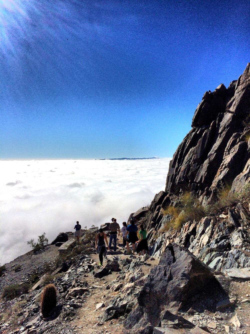 Fog at Piestewa Peak