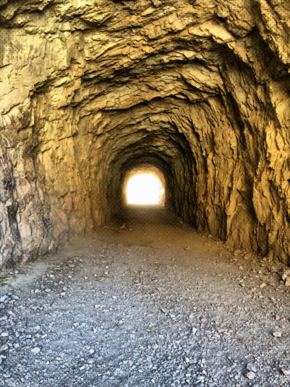 Abandoned Claypool Tunnel