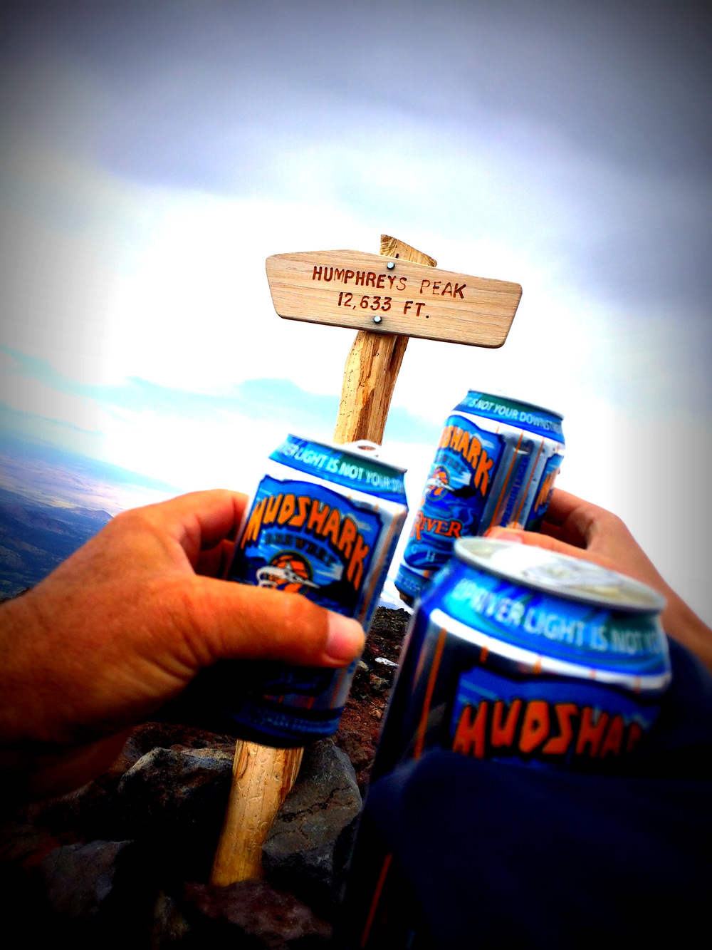 A Toast at Humphrey's Peak
