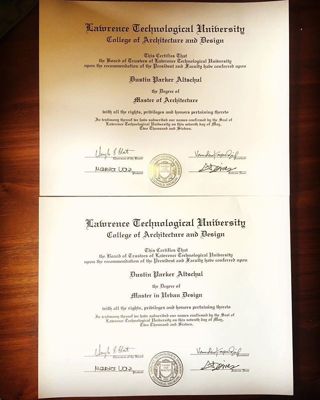 I got my official receipts in the mail today. Feel so much pride and accomplishment to go from a high school drop out to receiving two master degrees simultaneously. The stream of life can change anytime we want.