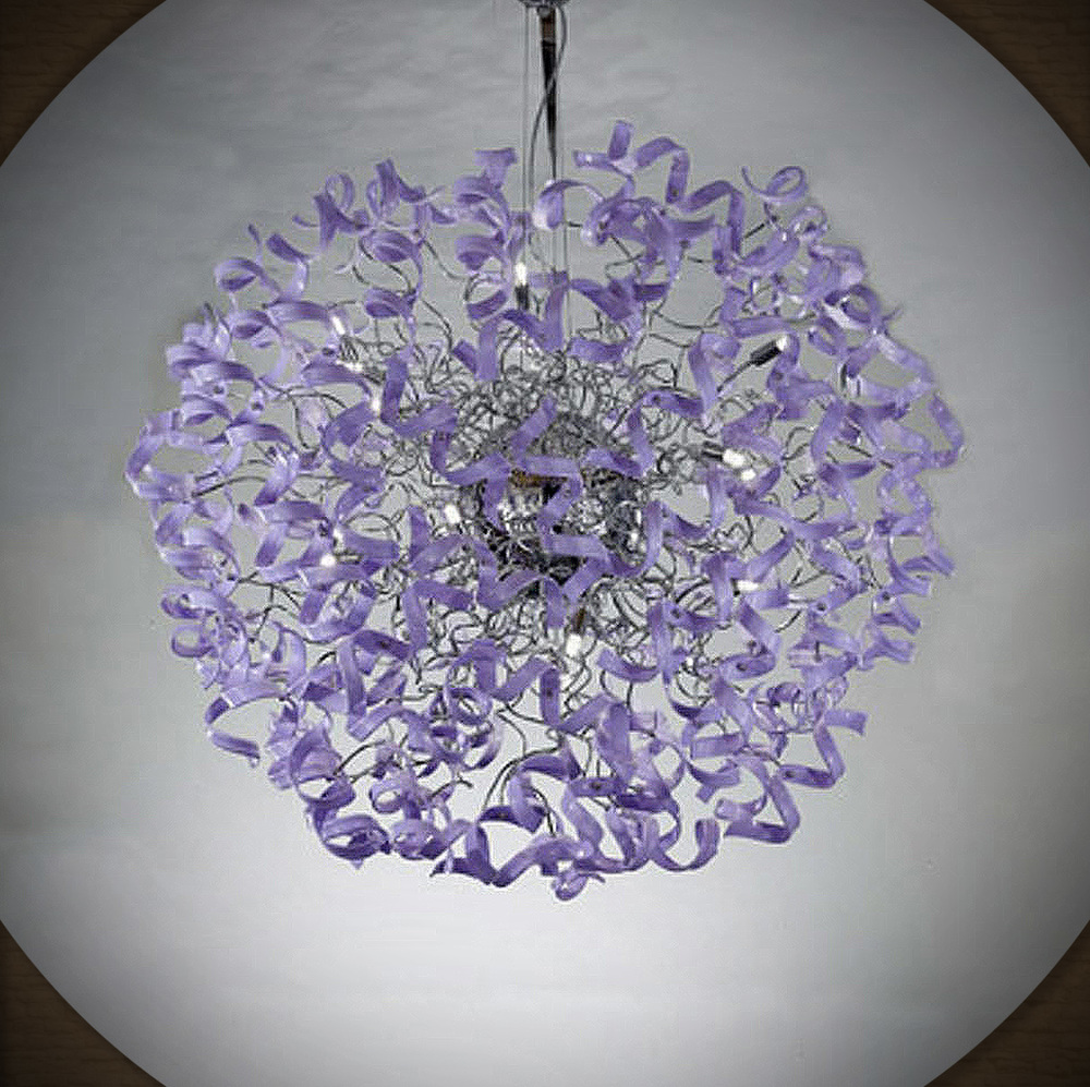 this chandelier belongs 2 chaka khan. she is my friend.