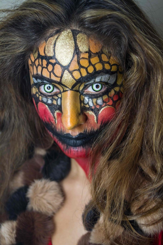 Devi the Clown - Portrait - Kyle Rea Photography