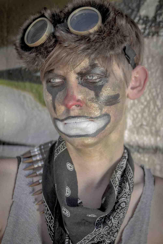 Echo the Clown - Portrait - Kyle Rea Photography