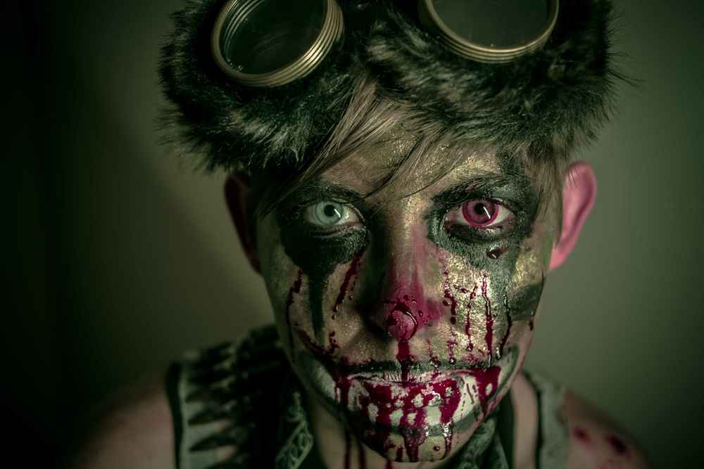 Echo the Clown - Bloody Face - Kyle Rea Photography