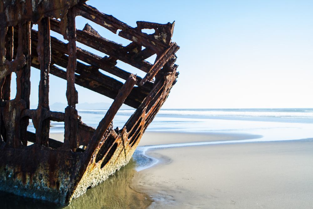 Peter Iredale Shipwreck (Pacific NW)