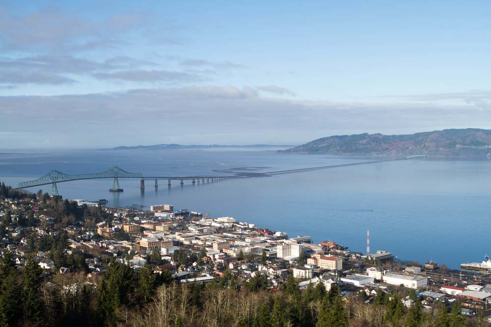 Astoria, Oregon (From Astor Column)