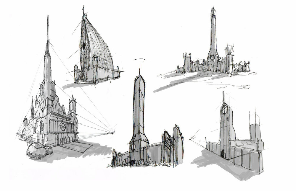 Bill Thompson - Environment Sketches - cREAtive Castle Studios 14.jpg