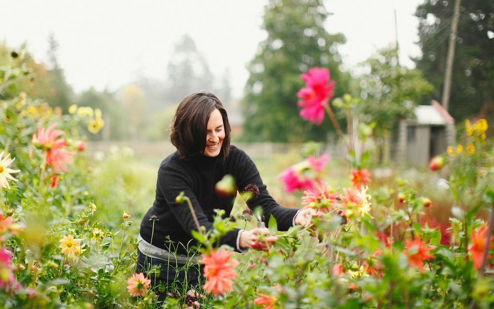 clare day flowers: wedding florist and organic flower farmer victoria, tofino and gulf islands