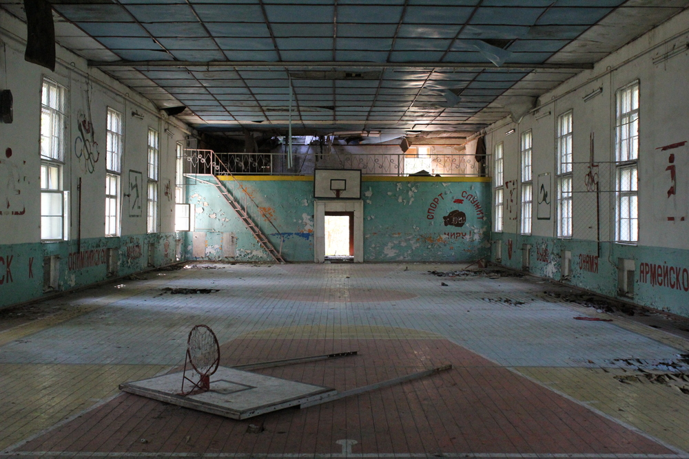 Abandoned soviet base in Brandenburg