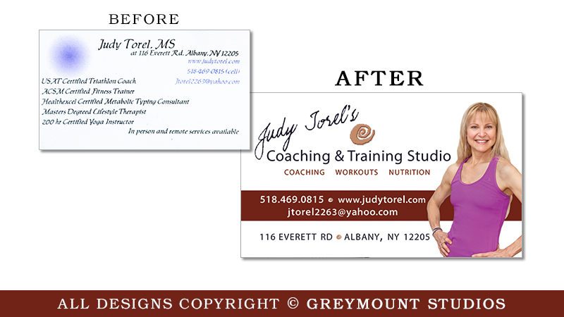 Business card design in Bethlehem, NY