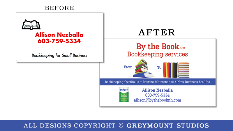 Business card design in Colonie, NY