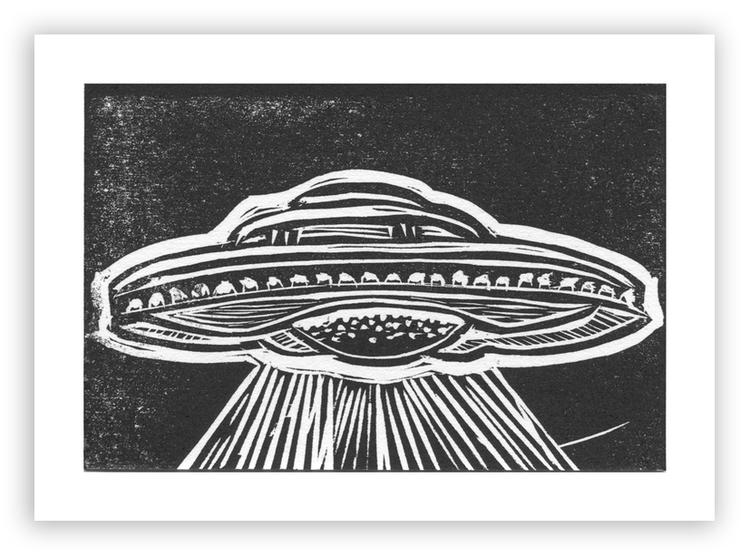 UFO #3 Mini-Print