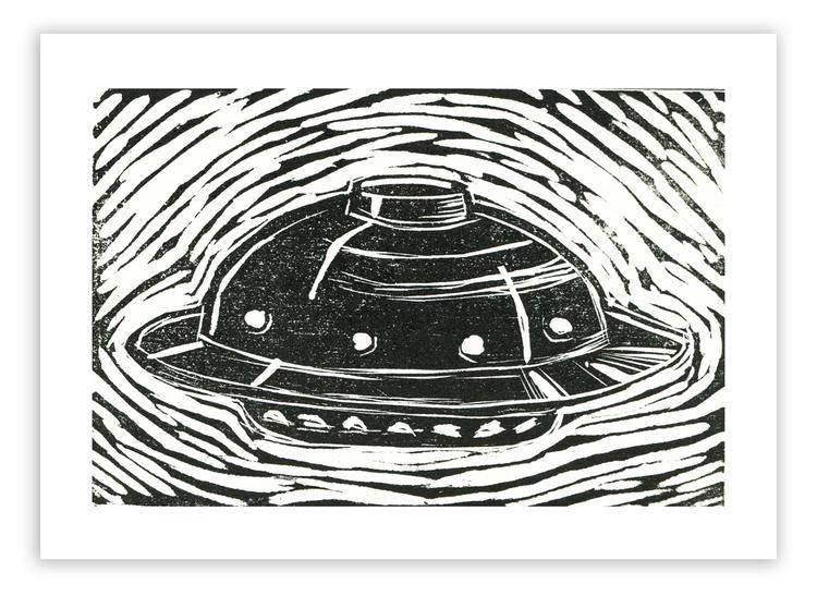 UFO #2 Mini-Print