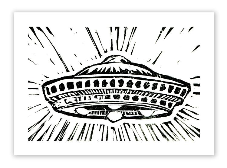 UFO #1 Mini-Print