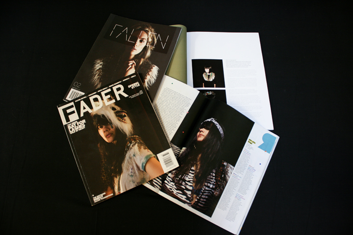 Bat for Lashes on Fader