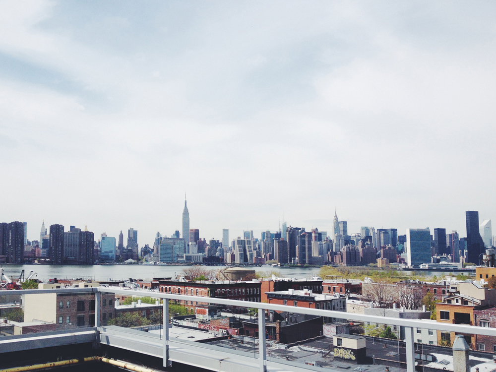 A photo from my rooftop in Greenpoint, Brooklyn