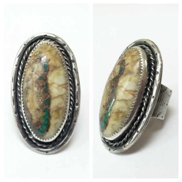 I made this ring in 2013 for tattoo artist, Rachel Hauer.