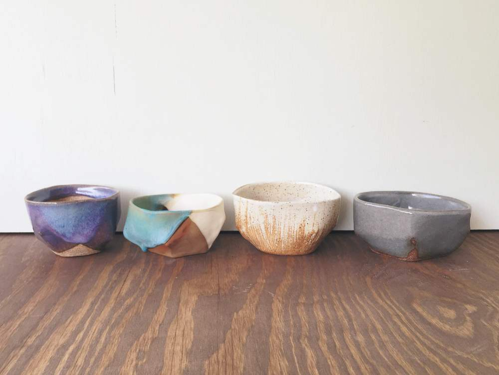 Mismatched bowls inspired by many creatives.