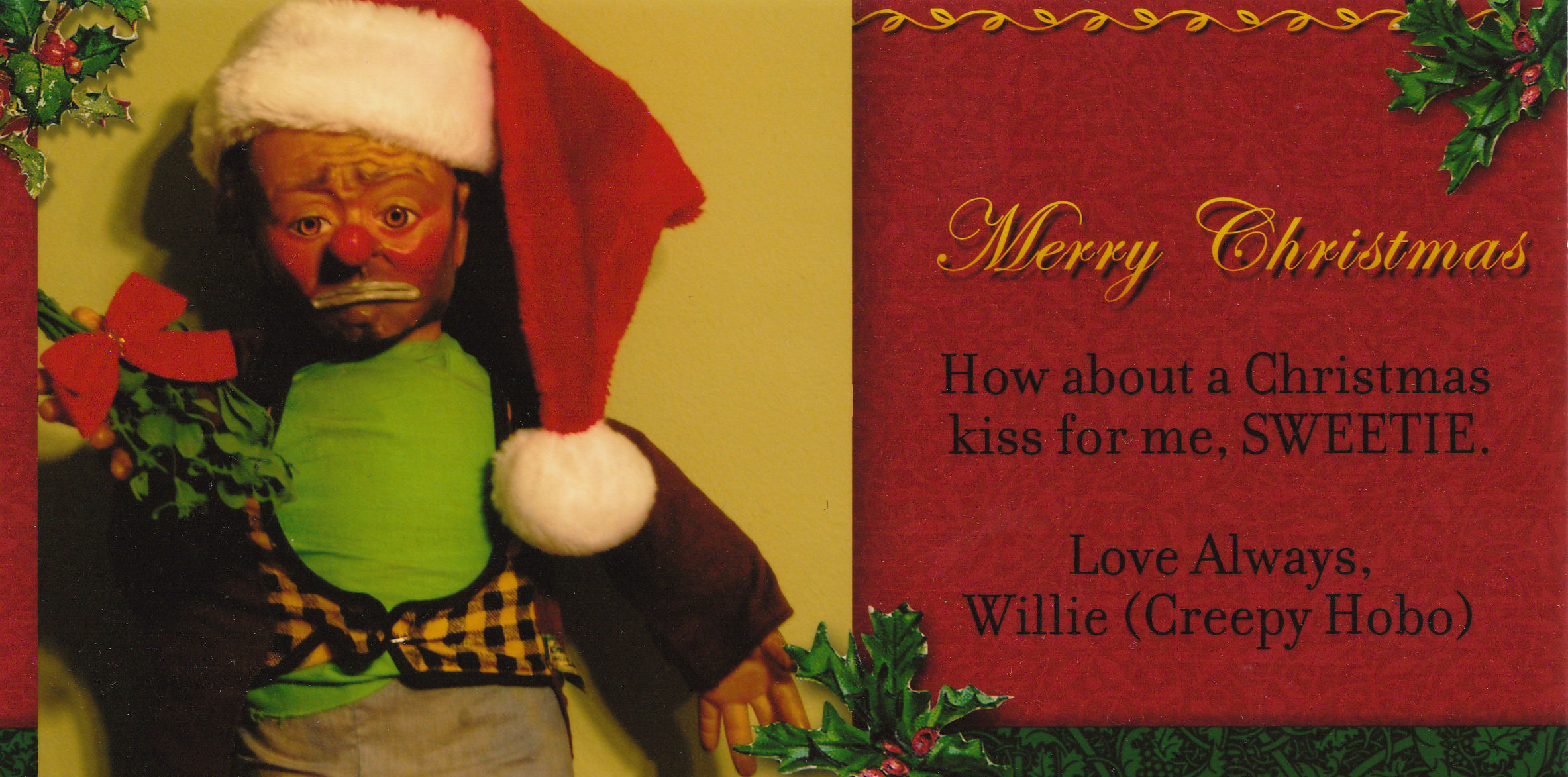 Willie Xmas Card 2009