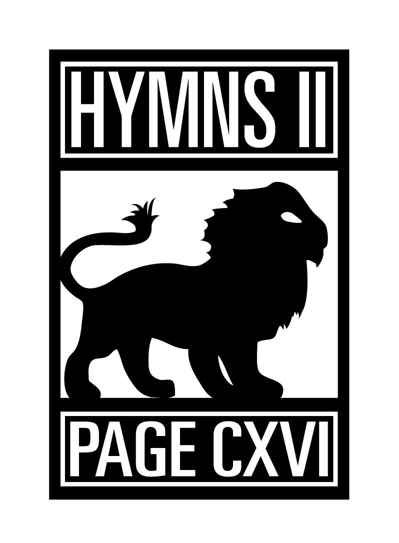 PAGE CXVI HYMNS - II LOGO