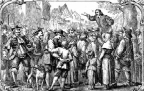 John Bunyan Open-Air Preaching