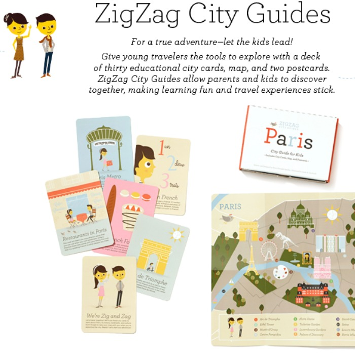 City guides for kids