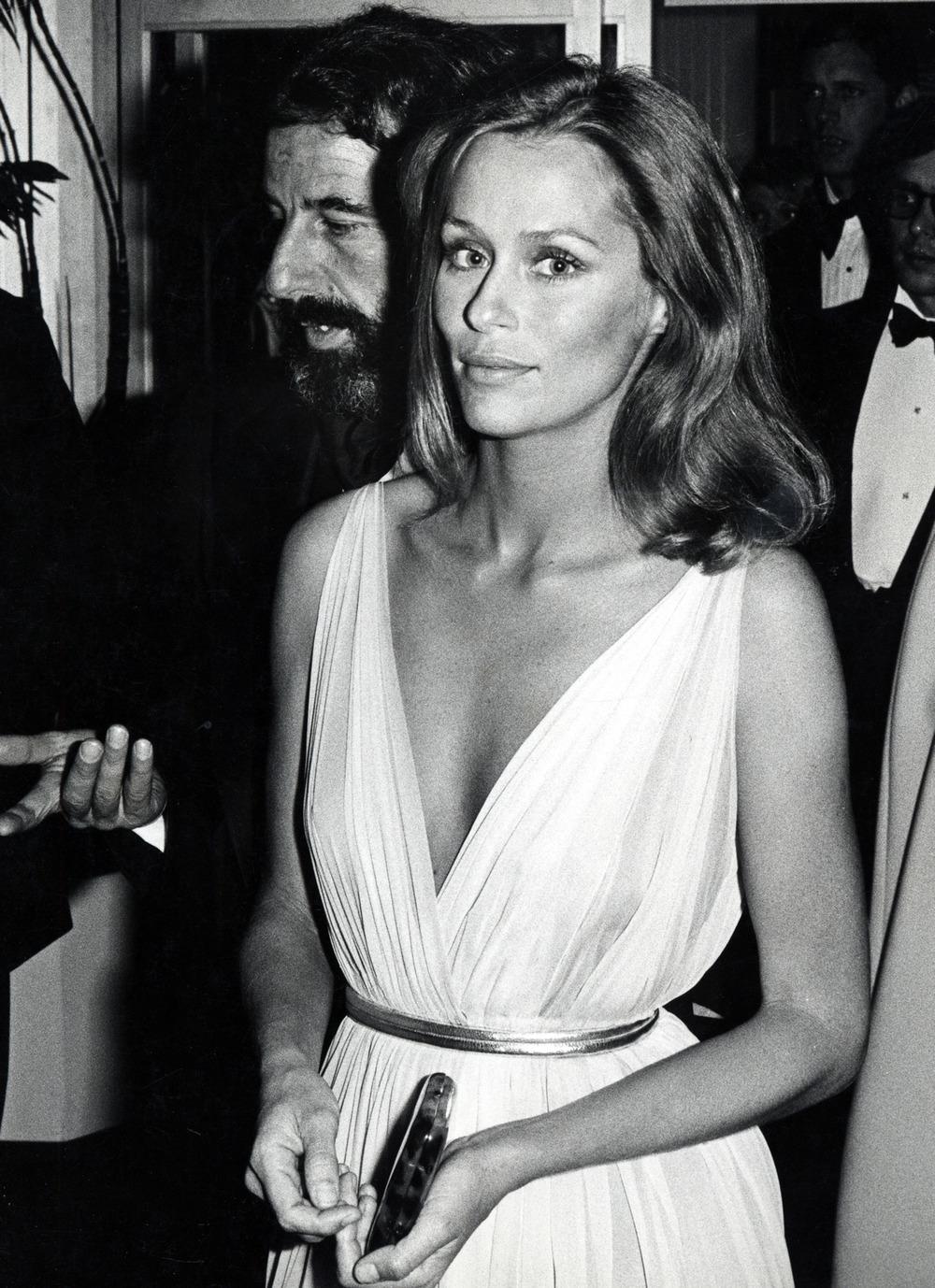 Lauren Hutton in Dior, 1975