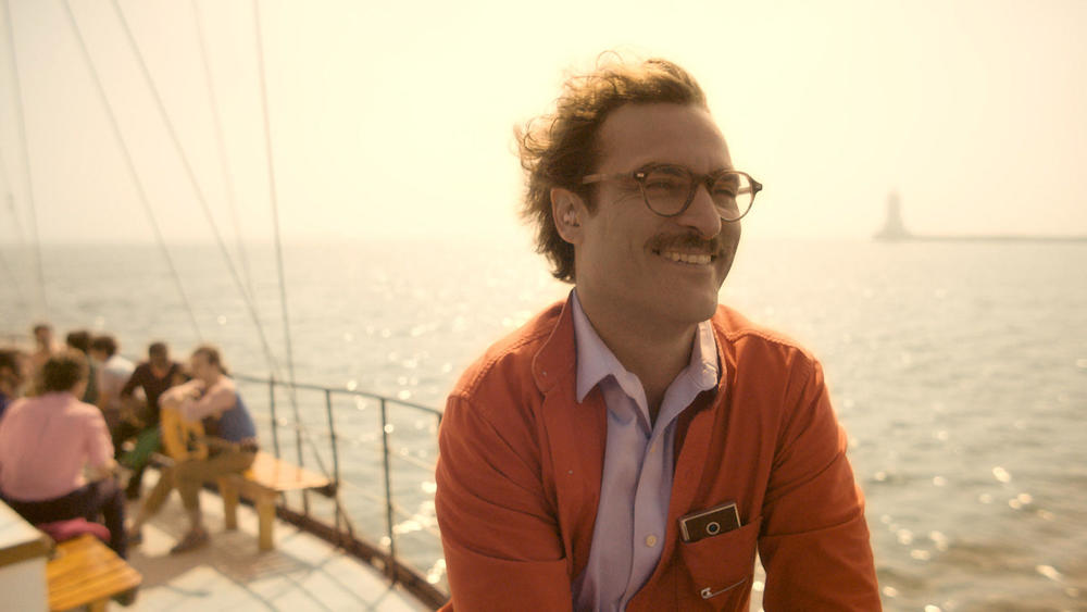Joaquin Phoenix is Theodore Twombly