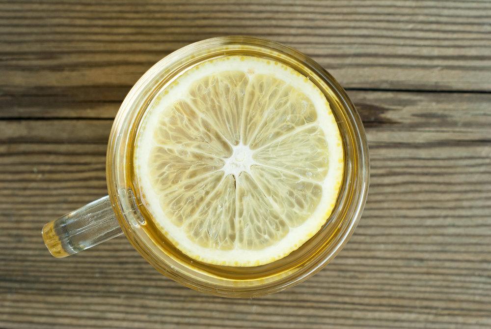 Lemon is a natural detoxifier