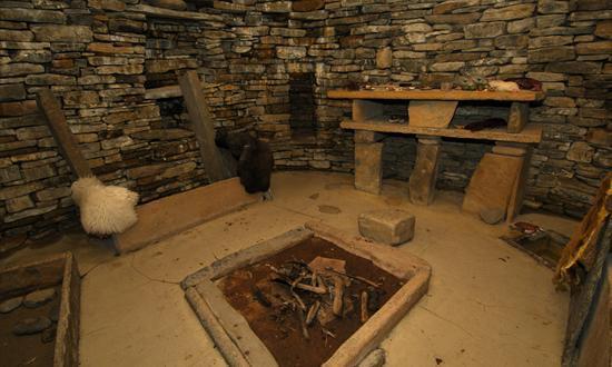 Skara Brae Interior