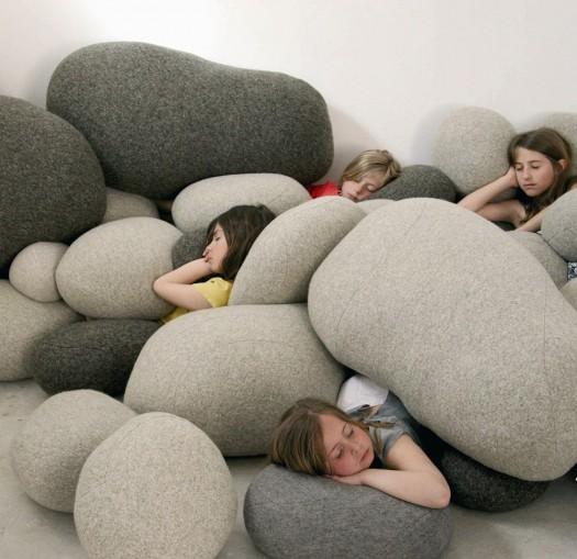 Stone Cushions
