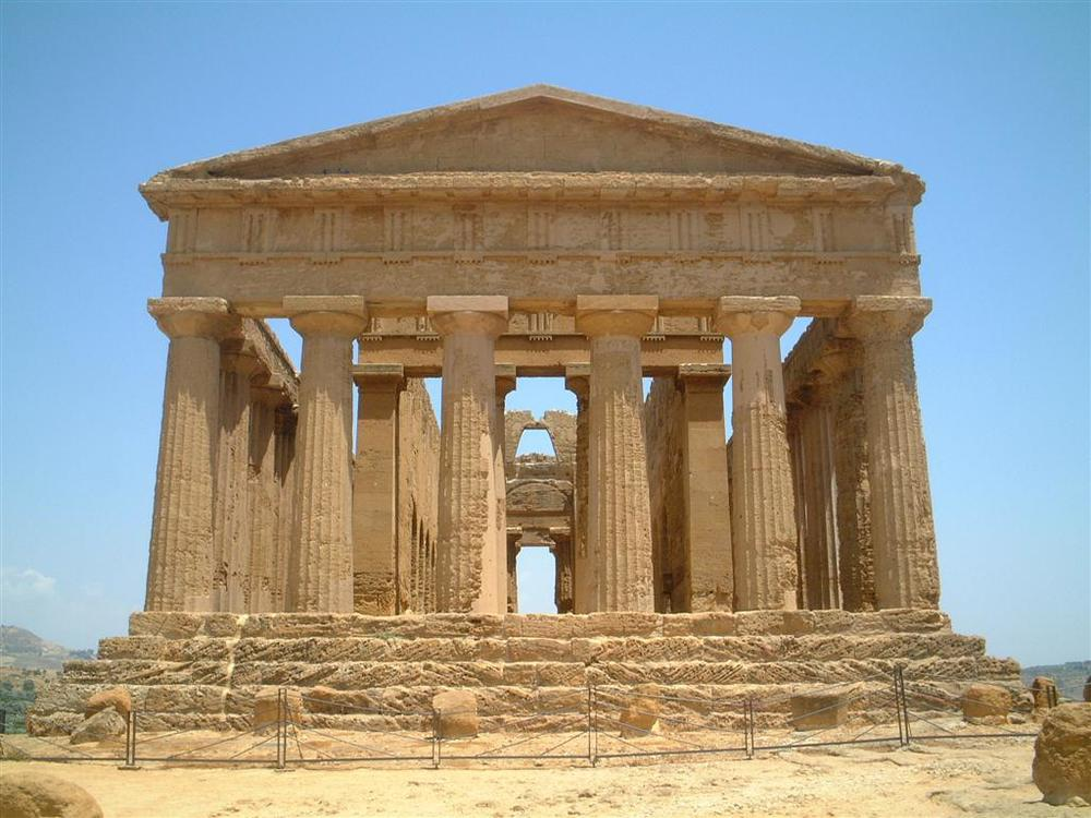 Future Past Ancient Greek Style Metrospace Design