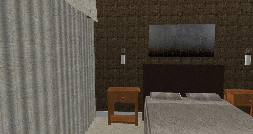 MASTER BEDROOM - CONCEPT RENDERING