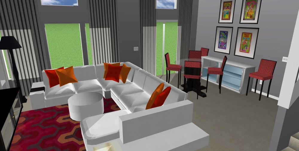LIVING ROOM - CONCEPT