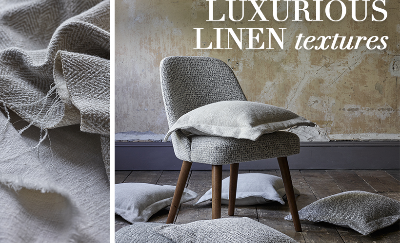 This is a superb collection of stylish, subtle and sumptuous textures. The perfect answer to comfortable, easy living, this collection emphasizes the cool modernity of the brand, sitting seamlessly in any interior either in harmony with other Threads designs or simply on their own.