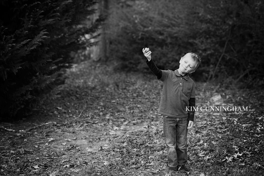 Playing with Rocks | Children's Photography | Kim Cunningham Photography | Tyrone, Georgia