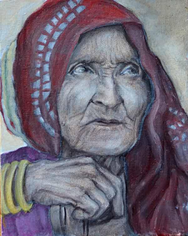 Old Woman III - WIP