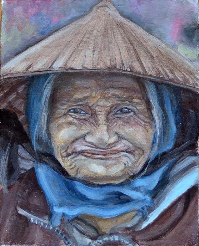 Old Woman VI - WIP