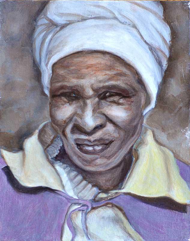 Old Woman VII - WIP