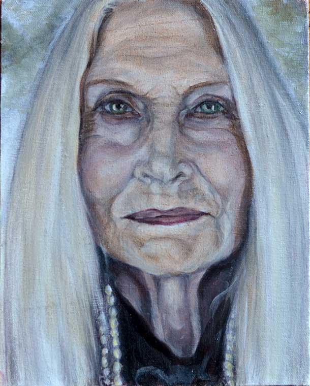 Old Woman II - WIP