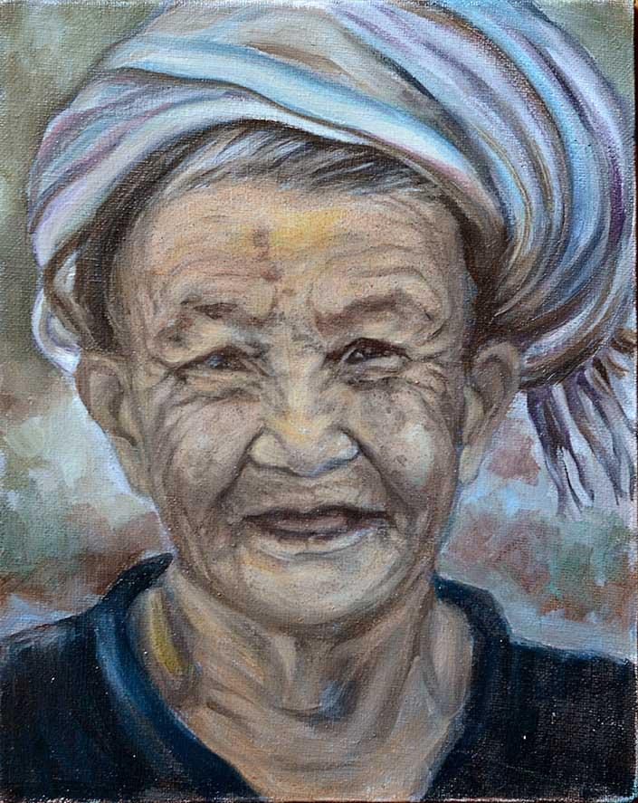 Old Woman VIII - WIP