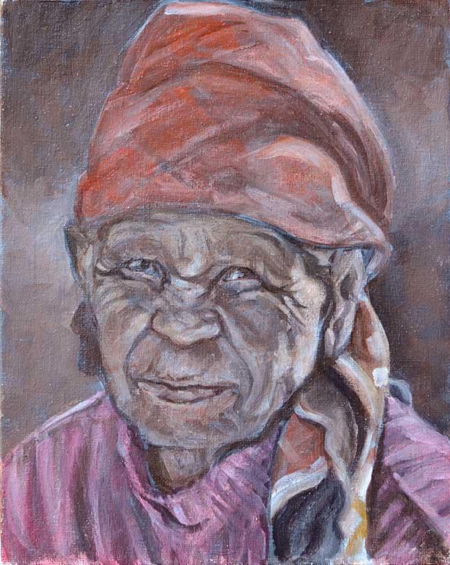 Old Woman XI - WIP