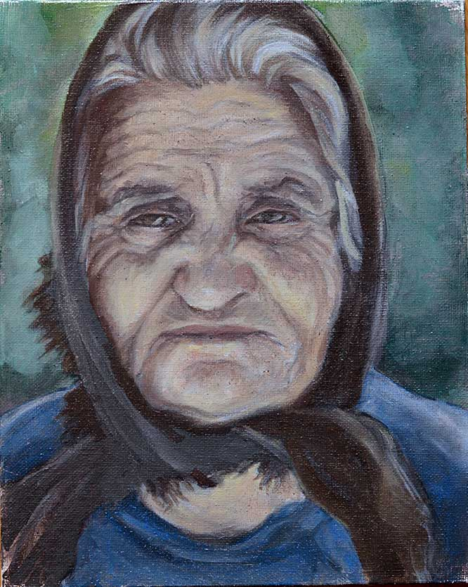 Old Woman X - WIP
